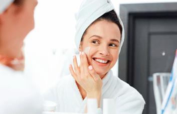 Como hidratar a pele?